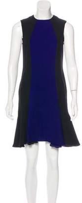 Stella McCartney Colorblock Crepe Dress