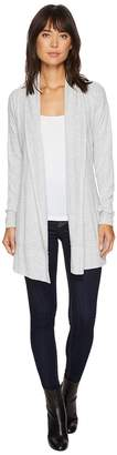 Mod-o-doc Luxe Sweater Knit Crossover Back Cardigan Women's Sweater