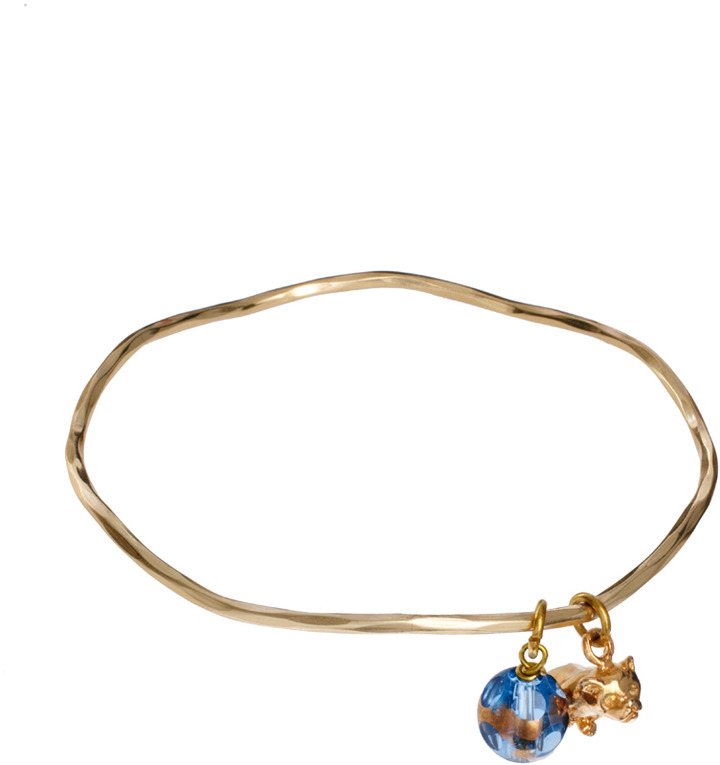 Sam Ubhi Bear Charm Bangle