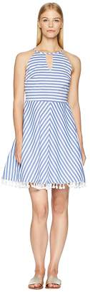 Letarte Stripe Dress Cover-Up Women's Swimwear