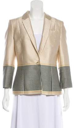 Elizabeth and James Notched Lapel Blazer