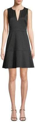 Kate Spade Bakery Dot Jacquard Mini Dress
