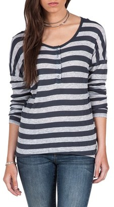Women's Volcom Lived In Henley Tee $35 thestylecure.com