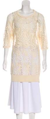 Isabel Marant Crochet Knit Tunic