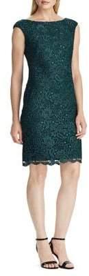 Lauren Ralph Lauren Scalloped Lace Dress