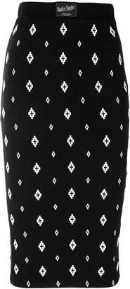 Marcelo Burlon County of Milan Cross skirt