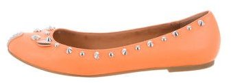 Marc by Marc Jacobs Studded Leather Flats
