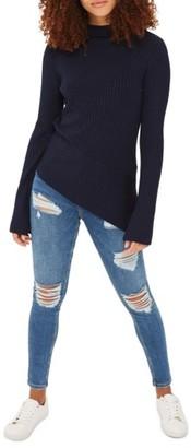 Women's Topshop Jamie Super Rip Skinny Jeans $80 thestylecure.com