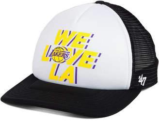 '47 Los Angeles Lakers Region Mesh Mvp Cap