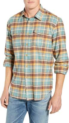 Coastaoro Los Olivios Regular Fit Plaid Flannel Shirt