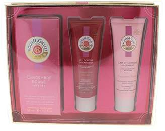 Roger & Gallet Gingembre Rouge Intense 3 Piece Gift Set for Women