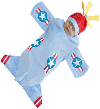 BuySeasons Bennett Bomber Baby Boys Bunting Costume