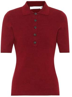 Victoria Beckham Slub Signature polo shirt