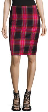 Crissy Plaid Pencil Skirt