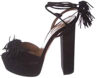 Aquazzura Wild One Platform Sandals