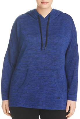Andrew Marc Performance Plus Spacedye Hooded Tunic