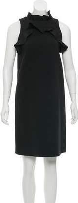 Lanvin Ruffle-Trimmed Tent Dress