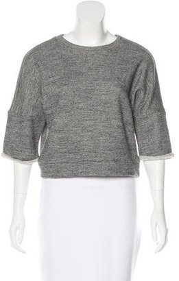 Derek Lam Cropped Knit Top $65 thestylecure.com