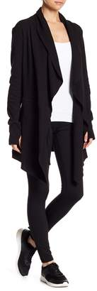 Warrior by Danica Patrick Active Knit Open Cardigan