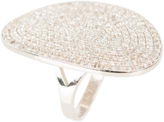 Tropez Latelita London - St Ring Silver White Zircon