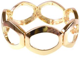 Bold Elements Gold Tone Bangle Bracelet
