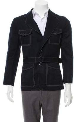 Louis Vuitton Denim Trench Coat