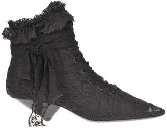 Saint Laurent Paris Blaze Boot Lace