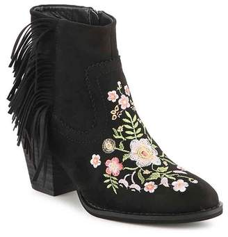 Good Choice New York Roscoe Embroidered Western Heeled Bootie