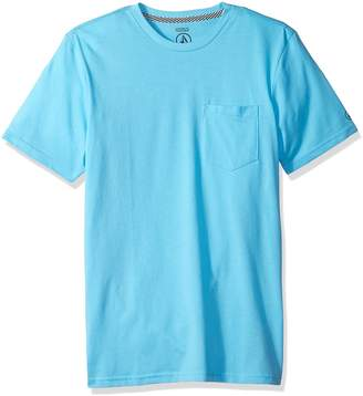 Volcom Men's Solid Pocket T-Shirt