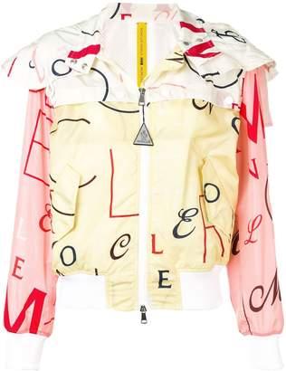 Moncler logo printed jacket