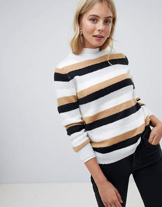 Brave Soul Wooly Stripe Sweater