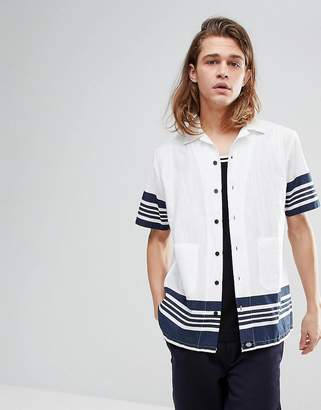 Dickies Ocean City Shirt In White