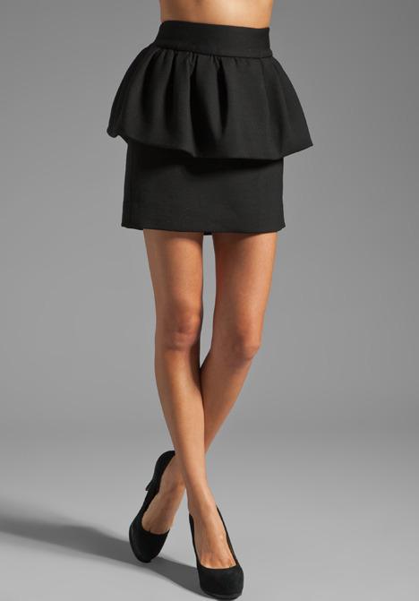 Milly Doubleweave Laurel Skirt