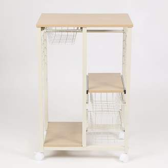 Winsome House Rolling Kitchen Island Cart