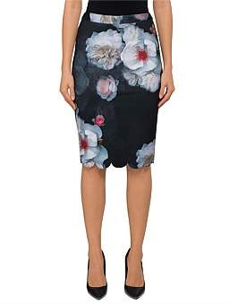 Ted Baker Laylie Chelsea Print Pencil Skirt