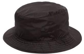 Acne Studios Buk Face Tech Bucket Hat - Mens - Black