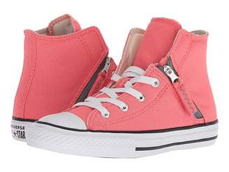 Converse Chuck Taylor(r) All Star(r) Pull-Zip - Hi (Little Kid/Big Kid)