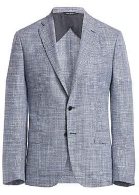 Saks Fifth Avenue COLLECTION Textured Basketweave Sport Coat