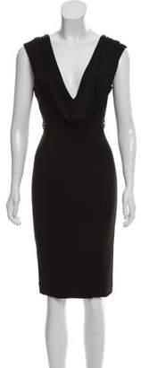 Gucci Sleeveless Knit Midi Dress