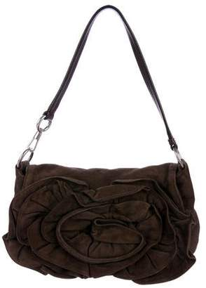 Saint Laurent Suede Nadja Rose Bag