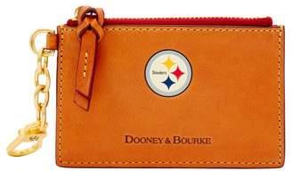 Dooney & Bourke NFL Steelers Zip Top Card Case