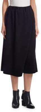 Issey Miyake Wrapped Midi Skirt