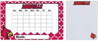 Louisville Cardinals Dry Erase Calendar & To-Do List Magnet Pad Set