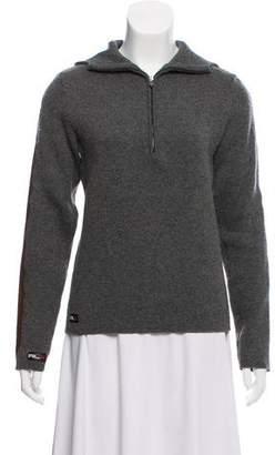 Ralph Lauren Hooded Half-Zip Sweater