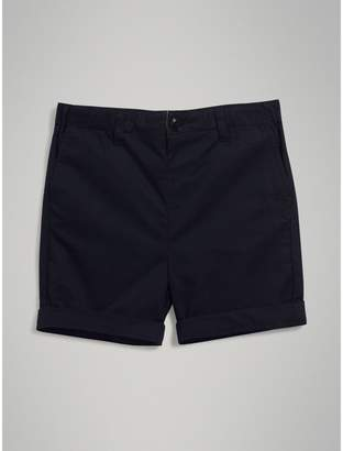 Burberry Childrens Cotton Chino Shorts