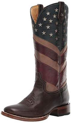 Roper Women's Old Glory Western Boot Brown