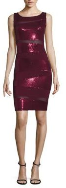 Bailey 44 Tyra Heavy Jersey Sequin Dress $198 thestylecure.com