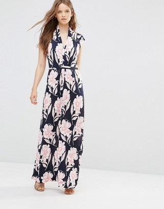 French Connection Maxi Dress in Floral Print $81 thestylecure.com