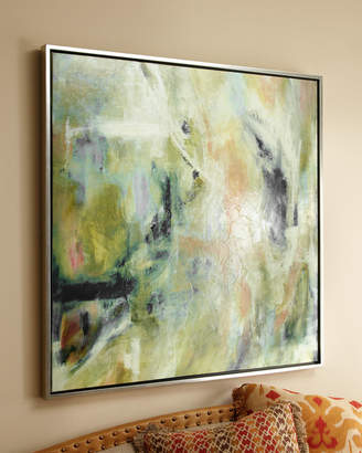 "Horchow ""Blush"" Giclee on Canvas Wall Art"