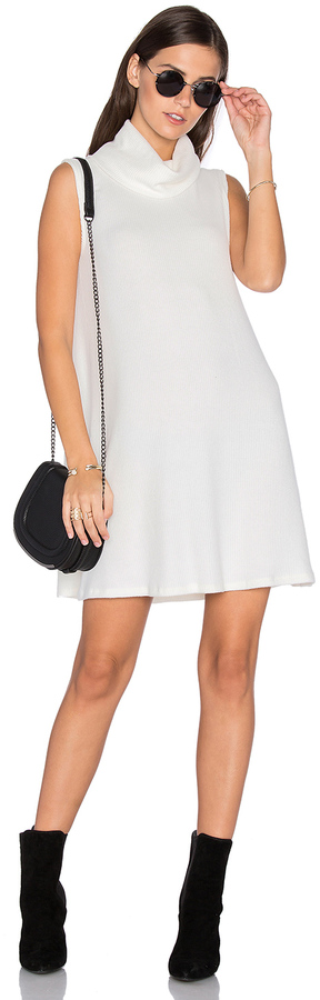 Michael Stars Sleeveless Cowl Shift Dress